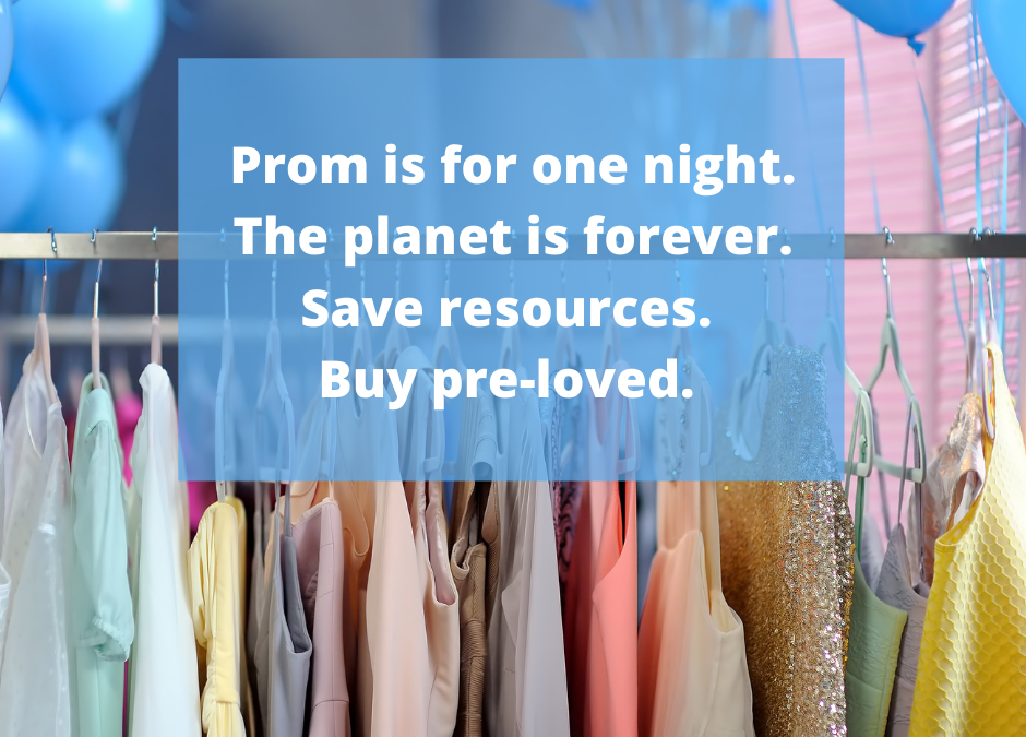 Pre-Loved Prom Shop Now Open