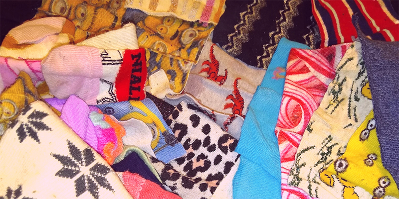 18th June – Fun and creative things you can do with odd socks!