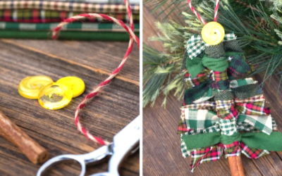 Christmas Decorations from Scraps! (The Town Pantry)